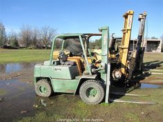 Clark 4,600lb. Forklift    Bidding on this item starts Tuesday, January 22, 2013 at 10:00 am (PT).