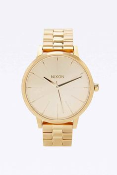"Nixon– Armbanduhr ""Kensington"" in Gold"