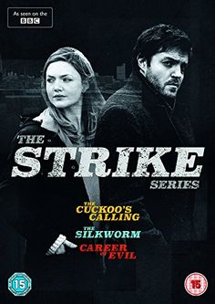 CD Strike With Tom Burke, Holliday Grainger, Kerr Logan, Killian Scott. War veteran turned private detective Cormoran Strike solves brutal murders with the help of his trusted assistant Robin Ellacott. Cormoran Strike Bbc, Strike Series, Natasha O'keeffe, Killian Scott, Career Of Evil, Frances Movie, Magic Memories, Holliday Grainger, Tv Series 2017
