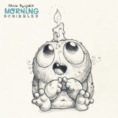 It's the last Birthday of my thirties! #morningscribbles