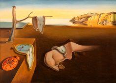 Salvador Dali - La persistance de la mémoire (les montres molles) - 1931. http://jpdubs.hautetfort.com/archive/2007/05/15/surrealisme.html