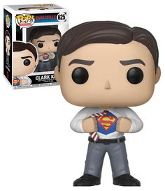 Funko POP! Television Smallville #625 Clark Kent - New, Mint Condition