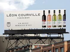 Léon Courville Vigneron  Les Cuvées   Emballage / Packaging   Affichage / Out-of-home   lg2boutique