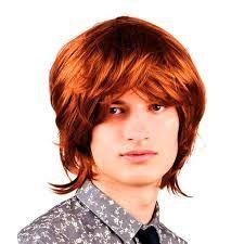 Resultado de imagen de peluca pelirrojo