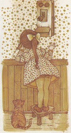 Holly Hobbie  { inspired; just like it was yesterday }