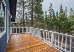 Newly refinished and painted exterior and sunny-side deck to take in the views