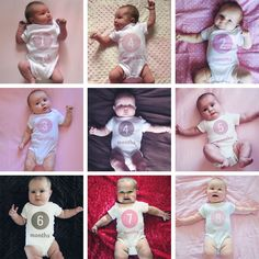 Monthly/Weekly Baby Photos with Photoshop