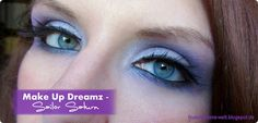 Sailor Saturn inspired Make Up by http://www.thebeautyofoz.com/2013/05/amu-make-up-dreamz-runde-10-sailor_13.html #SailorSaturn #MakeUp #SailorMoon