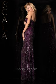 #SCALA Fall 15 style 47706 Wine #Fall2K15 #Homecoming2K15 #Dress #Formal #Fancy www,scalausa.com
