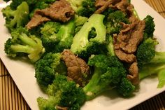 High Flavor, Low Calorie HCG Recipes: Beef & Broccoli Stir fry-Phase 2