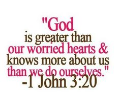 GOD > worries