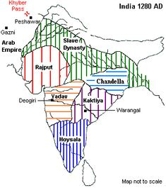 Delhi Sultanate Slave Dynasty – Slave dynasty (Mamluk dynasty) was mainly sum up Ancient Indian History, History Of India, History Photos, History Facts, India World Map, India Map, Delhi Sultanate, Ias Study Material, General Knowledge Book
