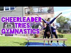 2 Person Acro Stunts! - YouTube