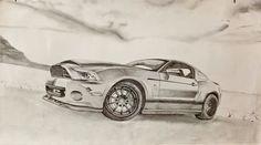 Mustang drawing