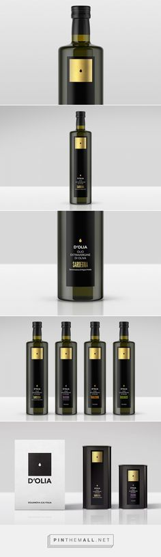The Very First Drop - Oil packaging design by TheFont Visualdesign - https://www.packagingoftheworld.com/2018/03/the-very-first-drop.html