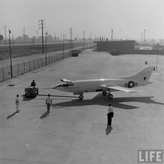 Douglas D-558-2 SKYROCKET   >>>   was a rocket and jet-powered supersonic research aircraf