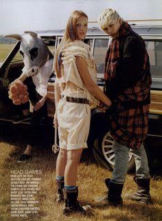 Teen Vogue Editorial Dream Weavers, November 2008 Shot #5