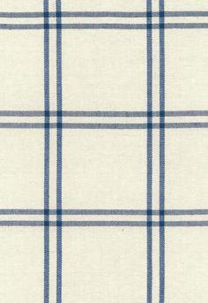 Fabric | Luberon Plaid in Indigo | Schumacher
