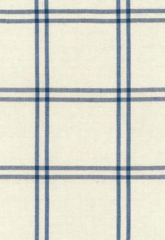 Fabric | Luberon Plaid in Indigo | Schumacher