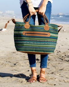 The Barcelona overnight bag. {The Little Market}