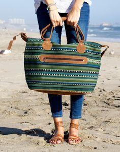 The Barcelona overnight bag. {The Little Market}