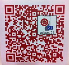 QR-Code Eskura21 Coding, Programming