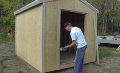 Attach Shed Trim | Store and Save | Learn How to Build a Cheap Shed