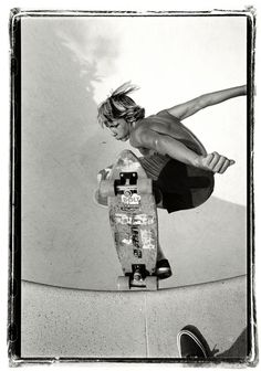 """You don't quit skating because you get old… You get old because you quit skating"" • RIP Jay Adams (February 3, 1961 – August 15, 2014), photo by Glen E. Friedman, 1977"