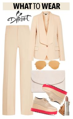 """""""OOTD"""" by gigi-lucid ❤ liked on Polyvore featuring Roland Mouret, STELLA McCARTNEY, Mansur Gavriel and Linda Farrow"""