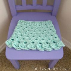 Stacked Shells Baby Skirt Crochet Pattern - The Lavender Chair