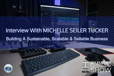 """Interview with MICHELLE SEILER TUCKER Exit Rich#ExitRich #MichelleSeilerTuckerHi, and welcome to the show!On today's My Future Business Show I have the pleasure of talking with business owner and two-time best-selling author Michelle Seiler Tucker talking about how to build a sustainable, scalable, and sellable business utilizing her proven techniques outlined in her latest book """"Exit Rich"""".Not only is Michelle the Founder and CEO of Seiler Tucker Incorporated, as a 20-year veteran in… On Today, Public Relations, Insight, How To Become, Interview, This Book, Book 1, Future, State University"""