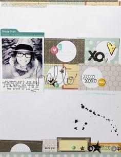 #papercraft #scrapbook #layout. Hello by MelBlackburn at @studio_calico