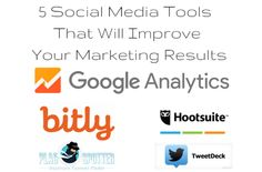 5 Social Media Tools That Will Improve Your Marketing Results