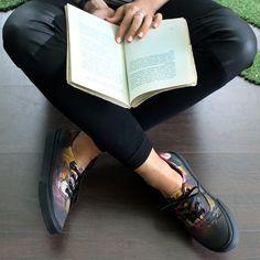 #vans #shoes #book #reading #vansofthewall  http://www.officeshoes.hu/cipo-vans-tornacipo-authentic/6227