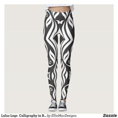 Discover Typography leggings at Zazzle! Dance Leggings, Striped Pants, Pattern, Design, Women, Fashion, Moda, Stripped Pants, Fashion Styles