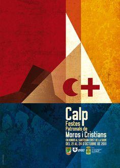 Can Carrasca: Carrer Cartelleria. Cartells de Festa. Festa de cartells: Cartell de les Festes de Moros i Cristians al Crist de la Suor de Calp 2011