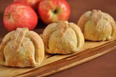 Apple Dumplings - Sounds and looks exactly like my mother used to make and my brother Craig loved them. (especially). I need to try them for my family.