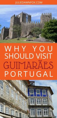 The northern city of Guimaraes is known as the cradle or birthplace of Portugal so its wealth of cultural heritage is hardly surprising, nor is its UNESCO World Heritage classification. There are plenty of things to do in Guimaraes and it's road and rail connections make it a good base for exploring the Minho region. Click through to find out why should visit Guimaraes, Portugal.   Julie Dawn Fox in Portugal #guimaraes #portugal #travelguide