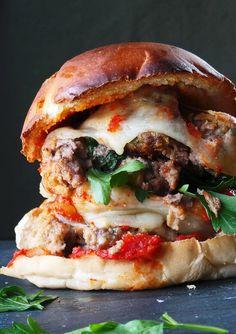 Mega Meatball Sandwich