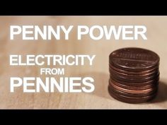 How To Make a 3 Penny Battery - http://www.thehowto.info/how-to-make-a-3-penny-battery/