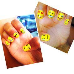 Emoji Nail Art & Design
