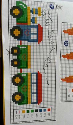 Cross Stitch Letter Patterns, Cross Stitch Letters, Cross Stitch Cards, Cross Stitch Designs, Cross Stitching, Cross Stitch Sea, Cross Stitch For Kids, Cross Stitch Flowers, Easy Perler Bead Patterns
