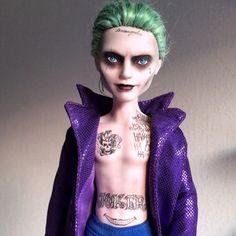 Monster High Boys, Custom Monster High Dolls, Monster High Repaint, Custom Dolls, Realistic Dolls, Joker And Harley Quinn, Doll Repaint, Ooak Dolls, Ball Jointed Dolls
