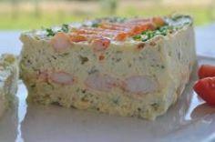 recette de cuisine terrine de poisson aux crevettes