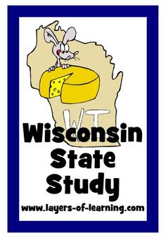 Wisconsin State Study with printable map