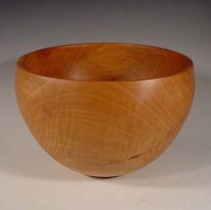 Texas Bradford Pear Wood Bowl Turned Wooden Bowl Art 6096 by NELSONWOOD on Etsy