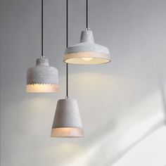 $159 Beautifully crafted minimalist concrete pendant light inspired by Ibiza Loft style and Scandinavian Minimalism. Combined with fabric braided cord, this simple and understated pendant will surely add a chic vibe to your loft or space. Shop the latest home interior and decor trends.  Get now 50% Discount and worldwide free shipping at COZICAZA SHOP.