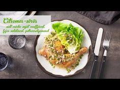 Széll Tamás - Citromos-sörös sült csirke saját szaftjával, fejes salátával, petrezselyemmel - YouTube