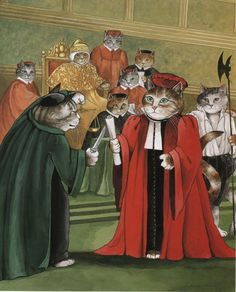 Cat merchant of Venice by Susan Herbert