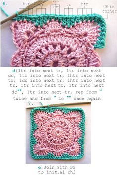 Solid Willow Block : How To.  http://hookandbake.blogspot.com.au/2013/06/solid-willow-crochet-block-how-to.html